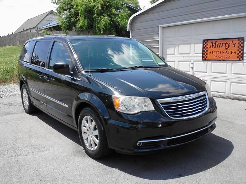 2013 Chrysler Town and Country for sale at Marty's Auto Sales in Lenoir City TN