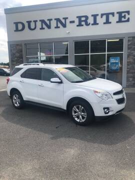 2012 Chevrolet Equinox for sale at Dunn-Rite Auto Group in Kilmarnock VA