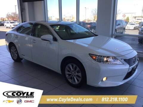 2015 Lexus ES 300h for sale at COYLE GM - COYLE NISSAN - Coyle Nissan in Clarksville IN