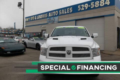 2012 RAM Ram Pickup 1500 for sale at Highway 100 & Loomis Road Sales in Franklin WI