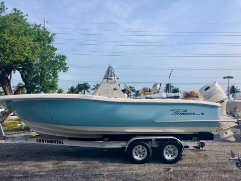 2020 Pioneer 222 Islander SOLD for sale at Key West Kia - Wellings Automotive & Suzuki Marine in Marathon FL