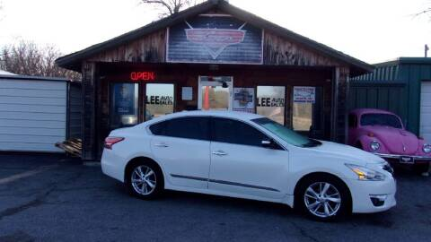 2015 Nissan Altima for sale at LEE AUTO SALES in McAlester OK