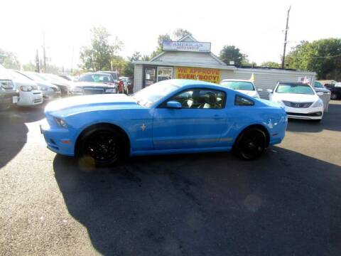 2013 Ford Mustang for sale at American Auto Group Now in Maple Shade NJ