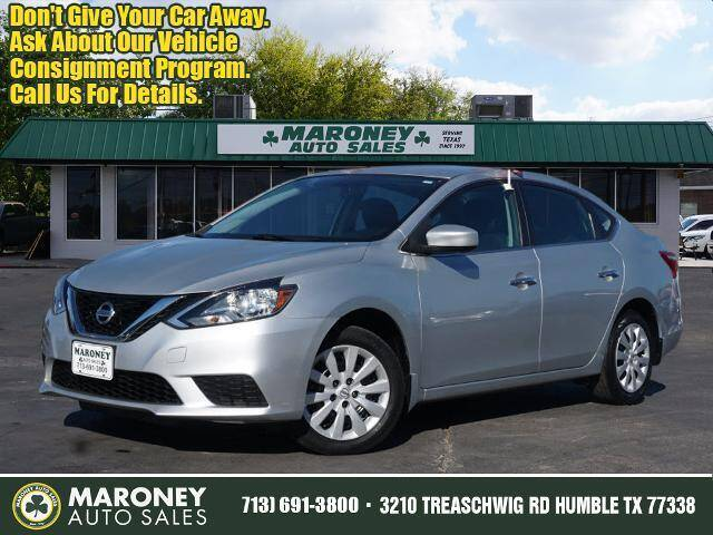 2017 Nissan Sentra for sale at Maroney Auto Sales in Humble TX