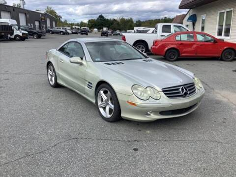 2003 Mercedes-Benz SL-Class for sale at SHAKER VALLEY AUTO SALES in Enfield NH
