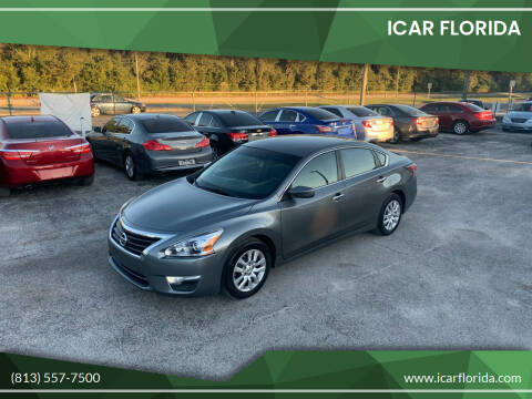 2015 Nissan Altima for sale at ICar Florida in Lutz FL