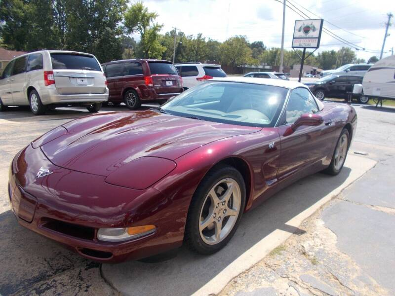 2003 Chevrolet Corvette for sale at High Country Motors in Mountain Home AR