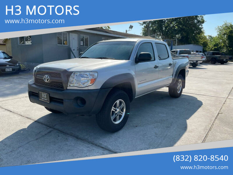 2011 Toyota Tacoma for sale at H3 MOTORS in Dickinson TX