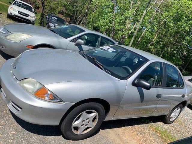 2001 Chevrolet Cavalier for sale at Snap Auto in Morganton NC