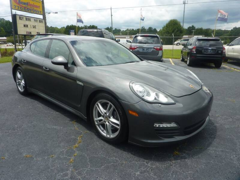 2013 Porsche Panamera for sale at Roswell Auto Imports in Austell GA