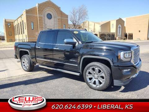 2018 GMC Sierra 1500 for sale at Lewis Chevrolet Buick of Liberal in Liberal KS