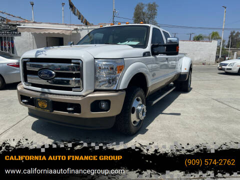 2013 Ford F-350 Super Duty for sale at CALIFORNIA AUTO FINANCE GROUP in Fontana CA