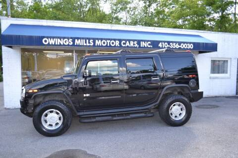 2003 HUMMER H2 for sale at Owings Mills Motor Cars in Owings Mills MD