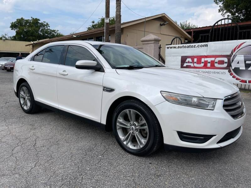 2013 Ford Taurus for sale at Auto A to Z / General McMullen in San Antonio TX