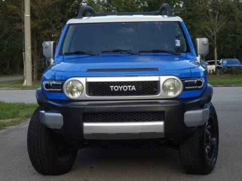 2007 Toyota FJ Cruiser for sale at Deal Maker of Gainesville in Gainesville FL