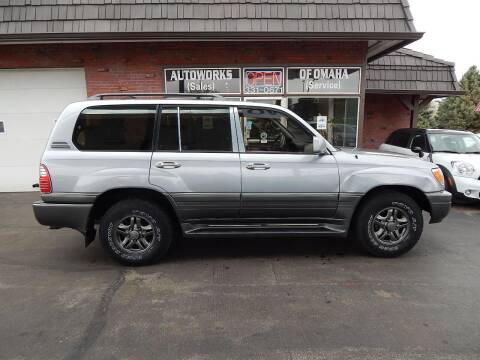 2001 Lexus LX 470 for sale at AUTOWORKS OF OMAHA INC in Omaha NE