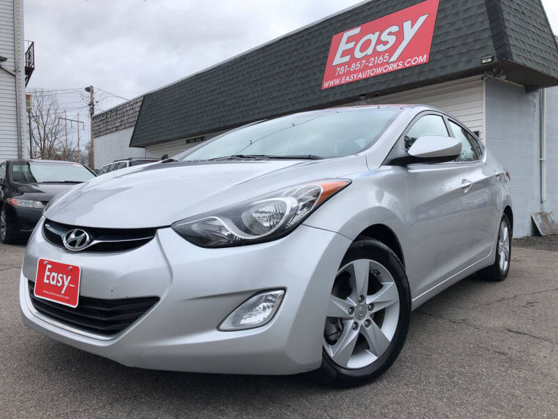 2013 Hyundai Elantra for sale at Easy Autoworks & Sales in Whitman MA