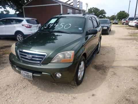 2007 Kia Sorento for sale at Knight Motor Company in Bryan TX