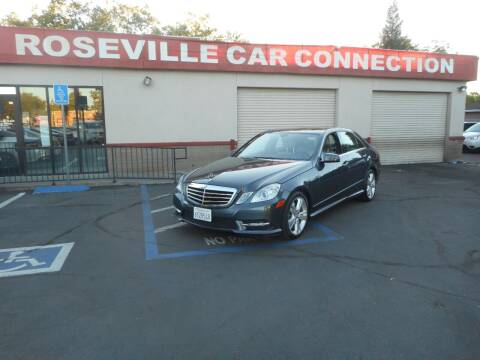 2013 Mercedes-Benz E-Class for sale at ROSEVILLE CAR CONNECTION in Roseville CA