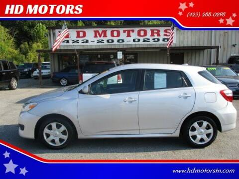2009 Toyota Matrix for sale at HD MOTORS in Kingsport TN