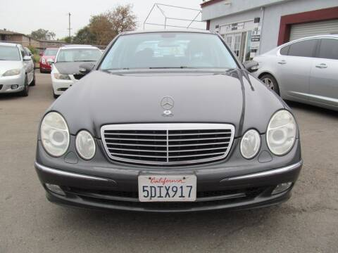 2003 Mercedes-Benz E-Class for sale at Dealer Finance Auto Center LLC in Sacramento CA