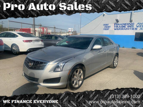 2014 Cadillac ATS for sale at Pro Auto Sales in Lincoln Park MI