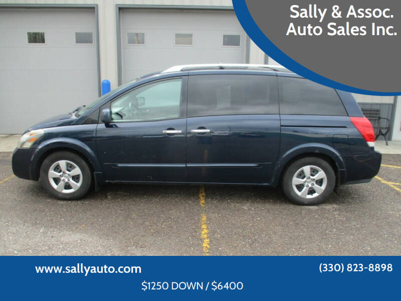 2007 Nissan Quest for sale at Sally & Assoc. Auto Sales Inc. in Alliance OH