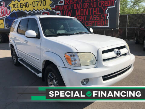 2007 Toyota Sequoia for sale at Rock Star Auto Sales in Las Vegas NV