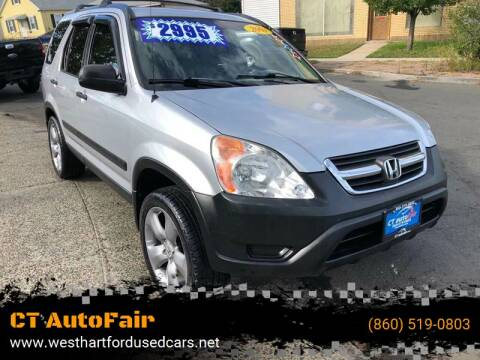 2003 Honda CR-V for sale at CT AutoFair in West Hartford CT