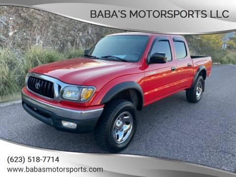2001 Toyota Tacoma for sale at Baba's Motorsports, LLC in Phoenix AZ