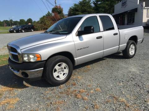 2005 Dodge Ram Pickup 1500 for sale at Clayton Auto Sales in Winston-Salem NC