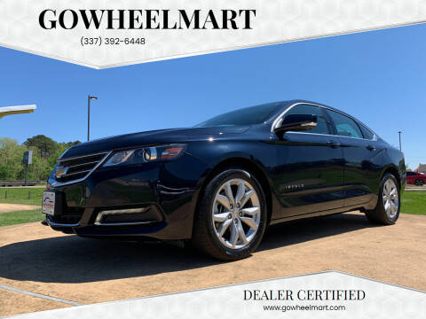 2019 Chevrolet Impala for sale at GOWHEELMART in Leesville LA