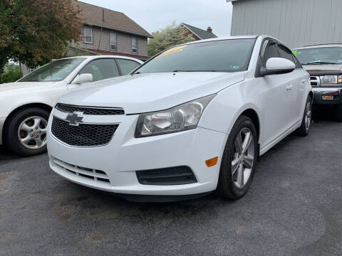 2012 Chevrolet Cruze for sale at Waltz Sales LLC in Gap PA