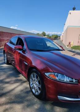 2013 Jaguar XF for sale at E and M Auto Sales in Bloomington CA