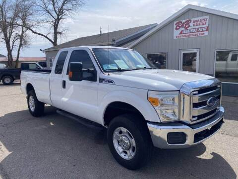2015 Ford F-250 Super Duty for sale at B & B Auto Sales in Brookings SD