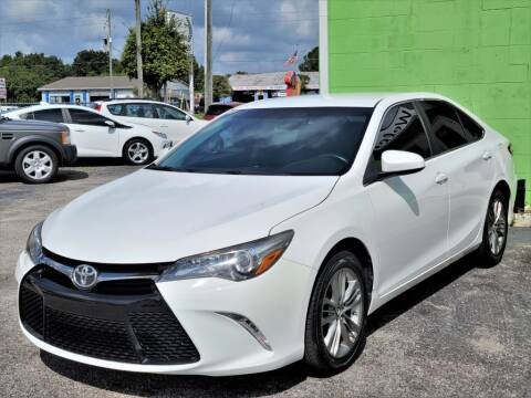2016 Toyota Camry for sale at Caesars Auto Sales in Longwood FL