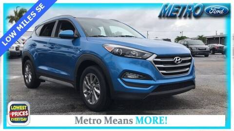 2017 Hyundai Tucson for sale at Your First Vehicle in Miami FL