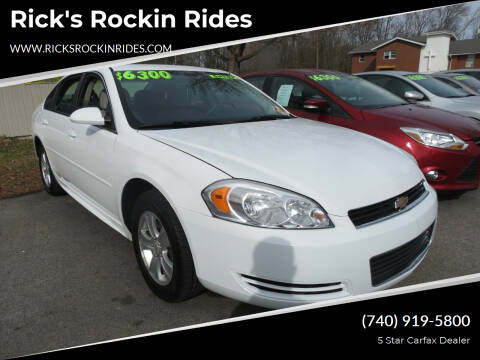 2012 Chevrolet Impala for sale at Rick's Rockin Rides in Reynoldsburg OH