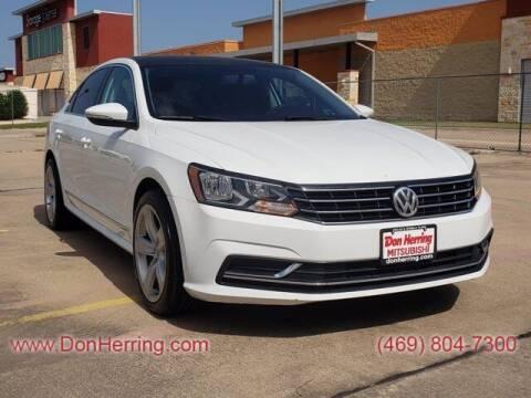 2017 Volkswagen Passat for sale at DON HERRING MITSUBISHI in Irving TX