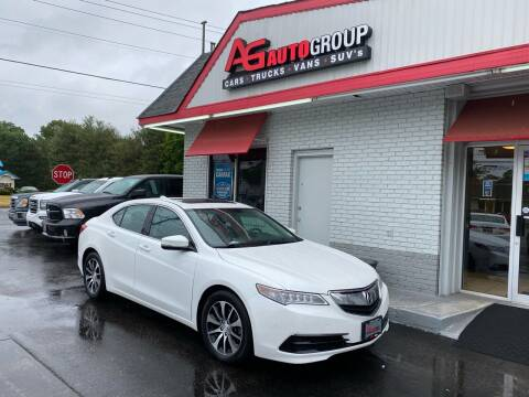 2016 Acura TLX for sale at AG AUTOGROUP in Vineland NJ