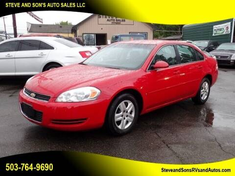 2007 Chevrolet Impala for sale at Steve & Sons Auto Sales in Happy Valley OR