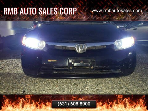 2006 Honda Civic for sale at RMB Auto Sales Corp in Copiague NY