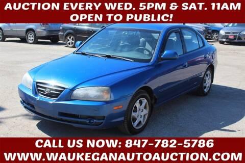 2005 Hyundai Elantra for sale at Waukegan Auto Auction in Waukegan IL