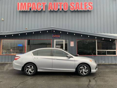 2016 Honda Accord for sale at Impact Auto Sales in Wenatchee WA