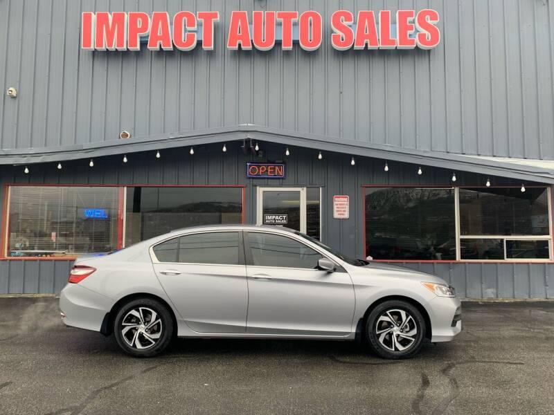 2016 Honda Accord for sale at Impact Auto Sales in Wenatchee WA
