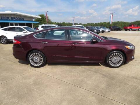 2013 Ford Fusion for sale at DICK BROOKS PRE-OWNED in Lyman SC