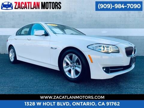 2013 BMW 5 Series for sale at Ontario Auto Square in Ontario CA