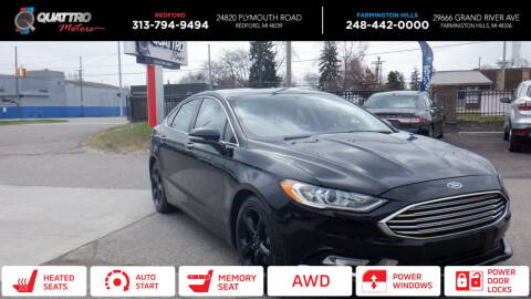 2018 Ford Fusion for sale at Quattro Motors 2 in Farmington Hills MI