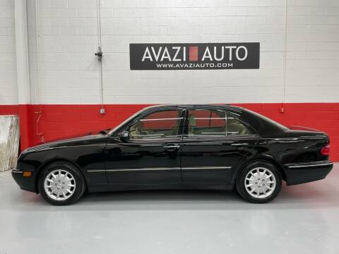 2000 Mercedes-Benz E-Class for sale at AVAZI AUTO GROUP LLC in Gaithersburg MD