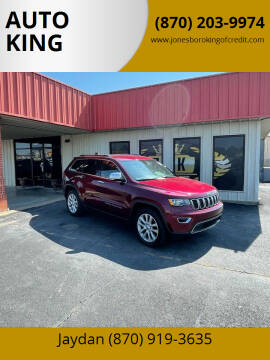 2017 Jeep Grand Cherokee for sale at AUTO KING in Jonesboro AR